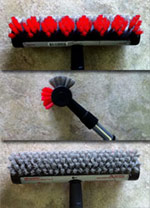 Diamond Flip Tile/Grout Brush