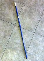 Universal Threaded Pole Blue