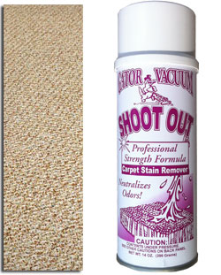 Professional Cleaning Products Shoot Out Carpet Stain