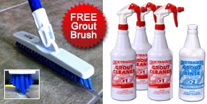 Free Grout Brush with Kit!