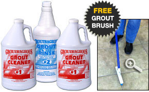 Groutrageous Kit #2 Free Brush