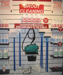 Grout Cleaning Store Showroom