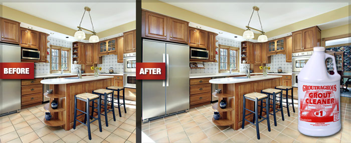 Best Grout Cleaner That Really Works Before And After Example