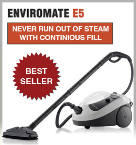 Enviromate E5 steam cleaner
