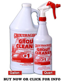 Perfect type of grout cleaner